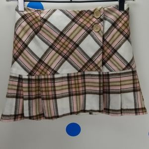 Old Navy Pink and Brown Skirt